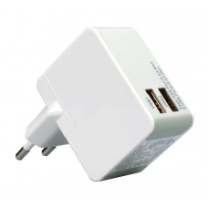 Wall Charger USB 2amp White