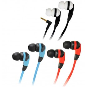 Earbud Bass Dynamic Black + Red