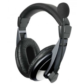 Headset + Mic Leather Cups
