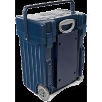 Cadii Bag - model B01 (Navy Blue Lid and Body)