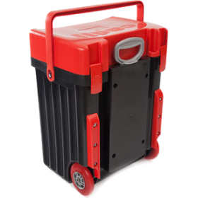 Cadii Bag - model B08 (Red Lid - Black Body)