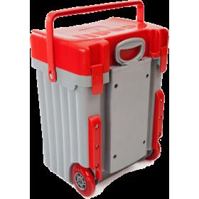 Cadii Bag - model B10 (Red Lid - Grey Body)