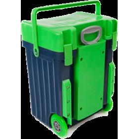 Cadii Bag - model B12 (Green Lid - Black Body)