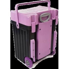 Cadii Bag - model B16 (Purple Lid - Black Body)