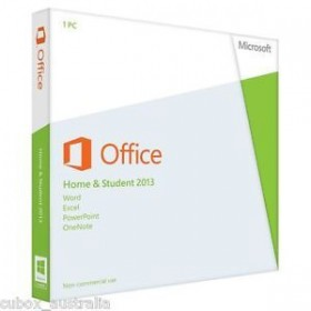 MS OFFICE HOME AND STUDENT 2013 FPP