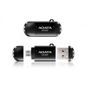 ADATA 16GB USB OTG FLASH DRIVE BLACK