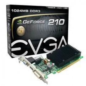 EVGA GEFORCE 210, 1GB DDR3, DVI-I, HDMI, VGA