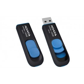 ADATA 32GB  UV128 USB 3.0 FLASH DRIVE BLACK&BLUE