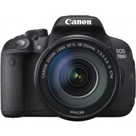 CANON EOS 700D+18-135 IS STM LENS KIT (18 MP)