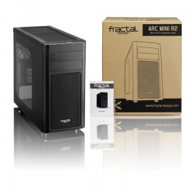 FRACTAL DESIGN ARC MINI R2 CASE, BLACK WINDOW