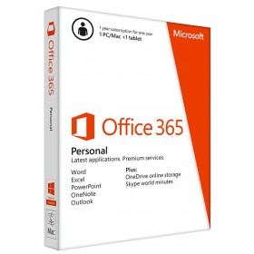OFFICE 365 PERSONAL 32/64 ENGLISH SUBSCR 1YR AFRIC