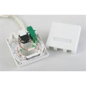 3M 8686 FTTH WALL OUTLET 2XSC SX OR 2XLC DX 1XRJ45