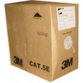 3M CAT 5E 100 OHMS UTP - TURQUOISE SOLID 305M BOX