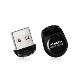 ADATA  UD310 8GB USB 2.0 BLACK FLASH DRIVE