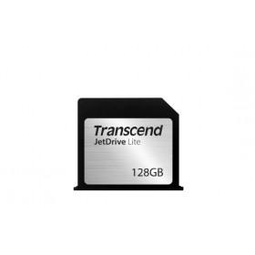 Transcend 64GB JetDrive Lite 130 Flash Expansion Card for Mac - MLC - Seq. Read: Up to 95MB/s Seq. Write: Up to 60MB/s - Flush tailor-made design - Limited lifetime warranty - Transcend JetDrive Lite 130 - Compatible with MACBOOK AIR 13""