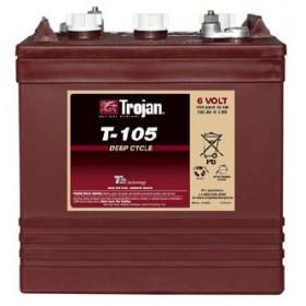 Trojan T105 6 volt Deep Cycle Battery 225Ah -20HAR